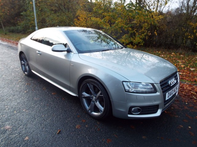 used Audi A5 TDI QUATTRO S LINE SPECIAL EDITION in lancashire