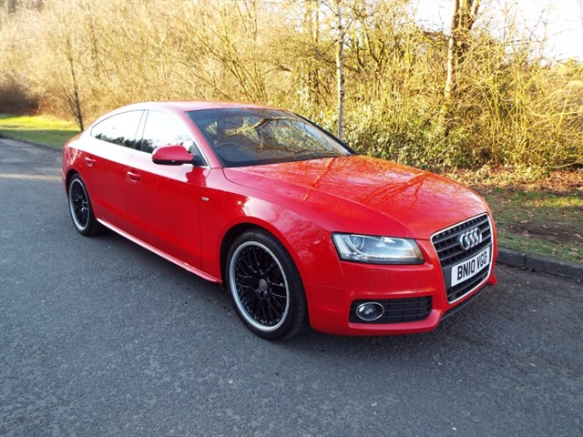 used Audi A5 SPORTBACK TDI S LINE in lancashire
