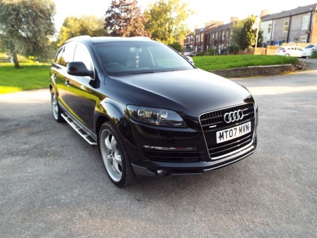used Audi Q7 TDI QUATTRO SE in lancashire