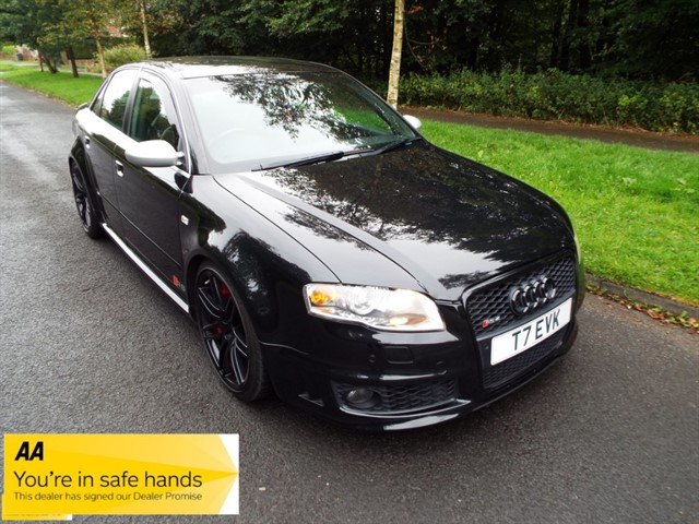 used Audi RS4 QUATTRO in lancashire