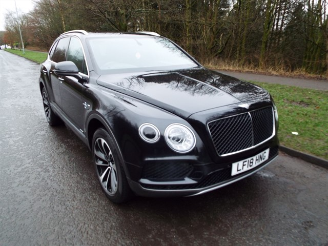 used Bentley Bentayga V8 D in lancashire