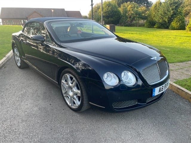 used Bentley Continental GTC in lancashire