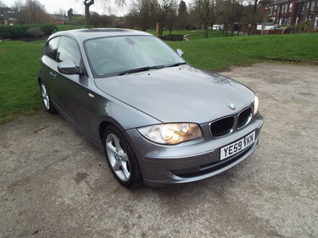used BMW 118d SPORT in lancashire