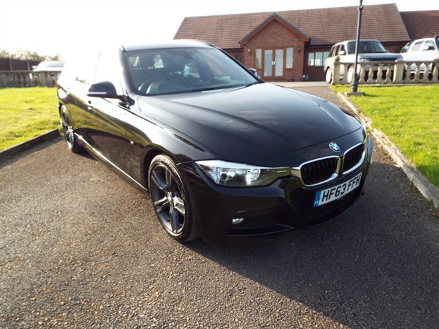 used BMW 320d M SPORT TOURING in lancashire