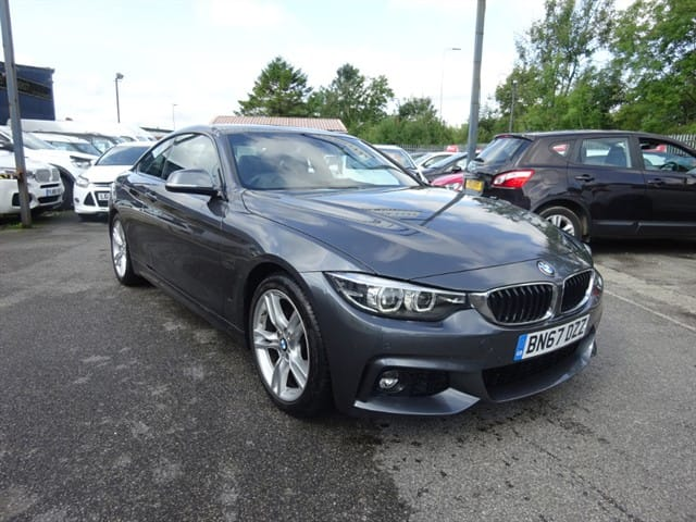 used BMW 420d M SPORT in lancashire