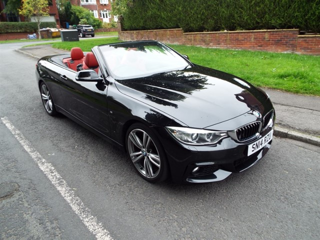 used BMW 428i M SPORT in lancashire