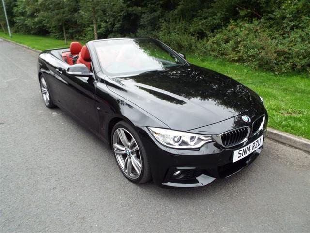 used BMW 428i M SPORT in lancashire