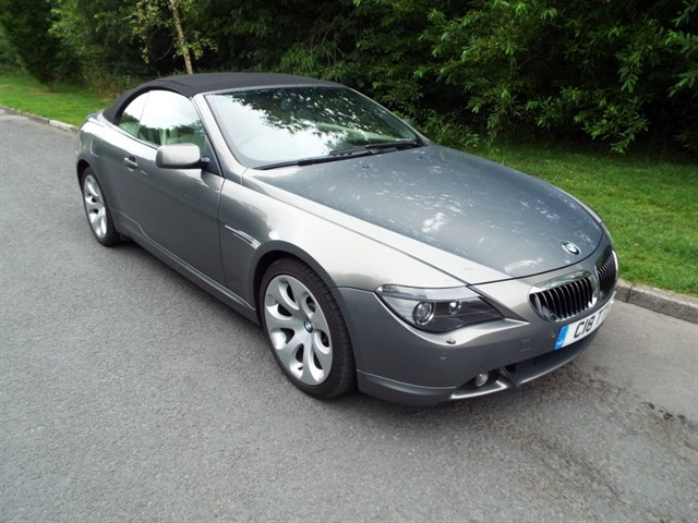 used BMW 645Ci  in lancashire