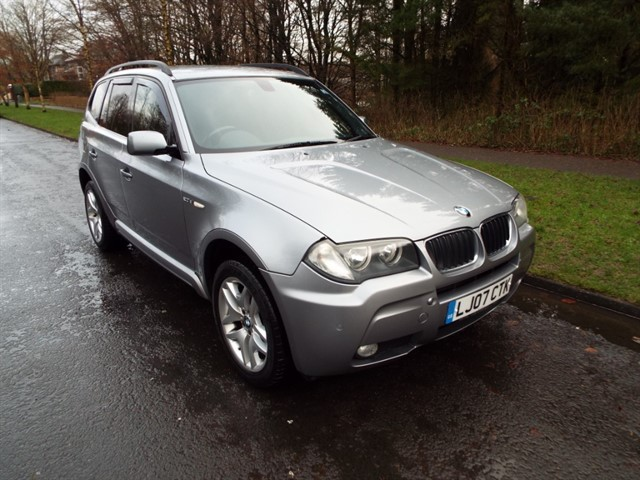 used BMW X3 D M SPORT in lancashire