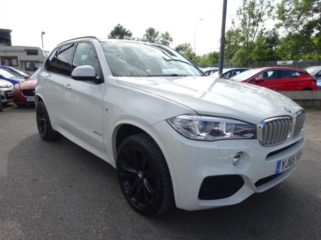 used BMW X5 XDRIVE40D M SPORT in lancashire