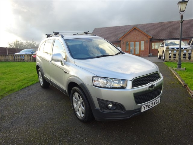 used Chevrolet Captiva VCDI LT in lancashire