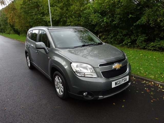 used Chevrolet Orlando LT in lancashire