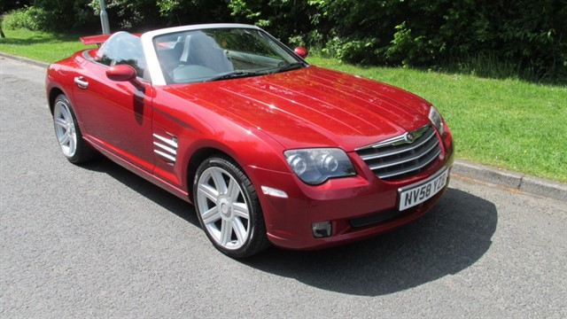 used Chrysler Crossfire V6 in lancashire