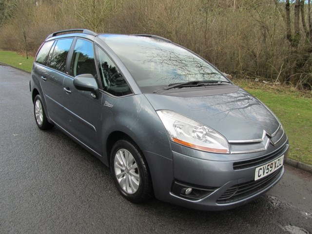 used Citroen C4 HDI VTR PLUS EGS GRAND PICASSO in lancashire