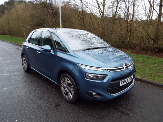 used Citroen C4 Picasso THP EXCLUSIVE in lancashire