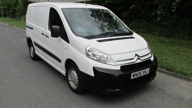 used Citroen Dispatch 1200 L1H1 SWB P/V HDI 120 in lancashire