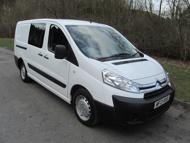 used Citroen Dispatch 1200 L2H1 W/V HDI CREW CAB in lancashire