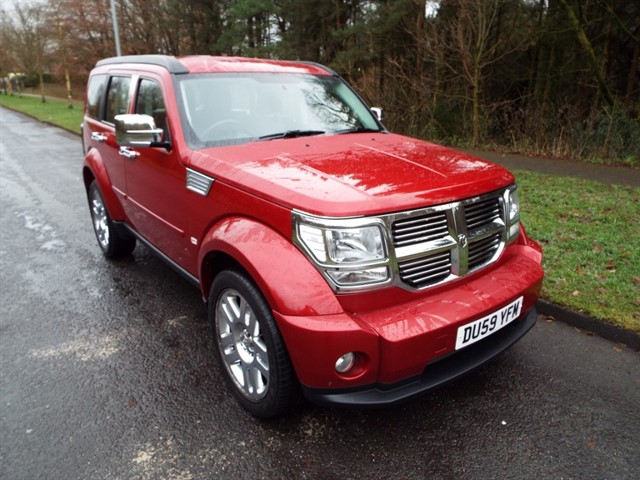 used Dodge Nitro SXT in lancashire