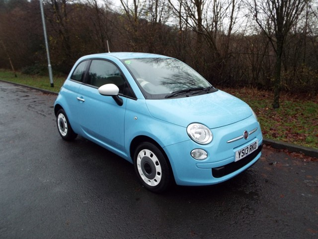 used Fiat 500 COLOUR THERAPY in lancashire