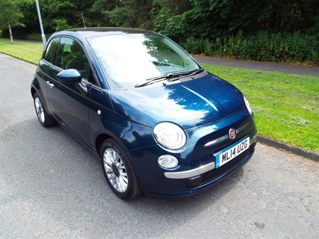 used Fiat 500 LOUNGE DUALOGIC in lancashire