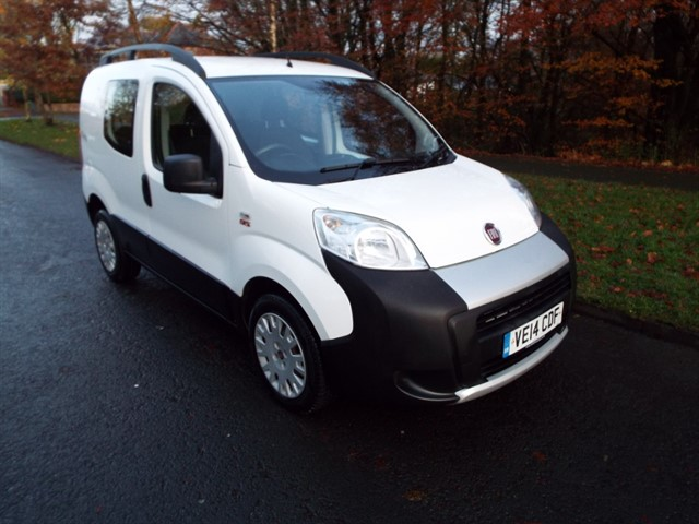 used Fiat Fiorino 16V MULTIJET COMBI ADVENTURE in lancashire