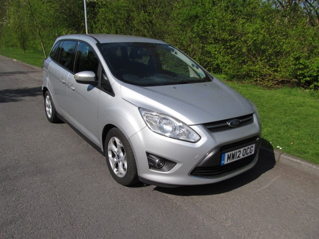 used Ford C-Max GRAND ZETEC TDCI in lancashire