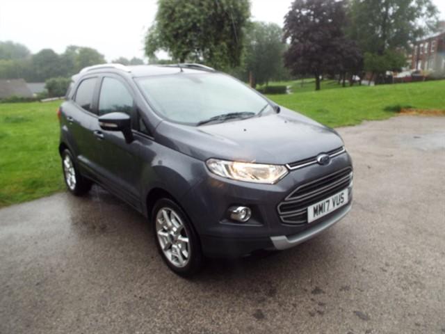 used Ford EcoSport TITANIUM TDCI in lancashire
