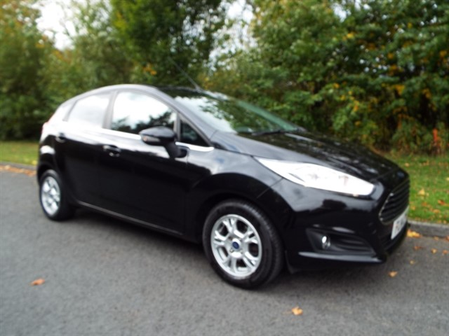 used Ford Fiesta TITANIUM ECONETIC TDCI in lancashire