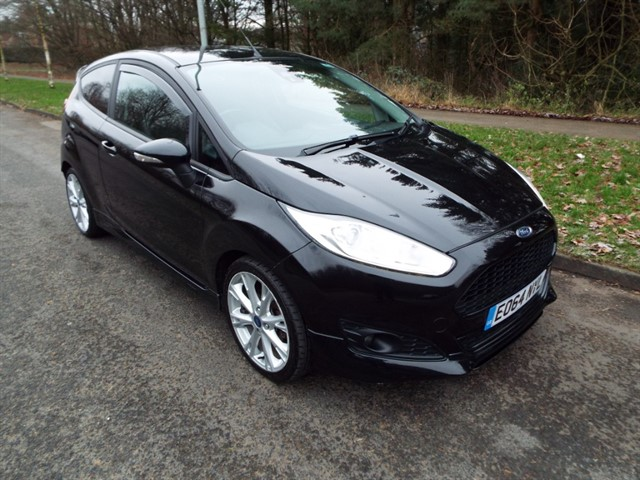 used Ford Fiesta ZETEC S TDCI in lancashire