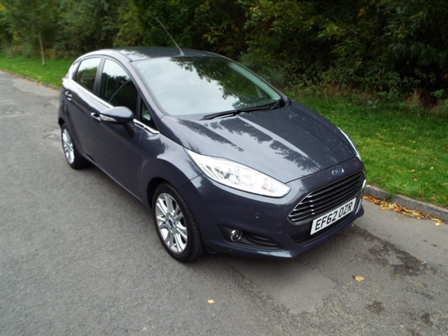 used Ford Fiesta ZETEC TDCI in lancashire