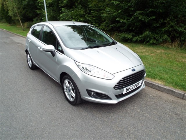 used Ford Fiesta ZETEC in lancashire