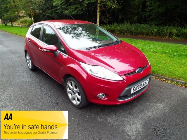 used Ford Fiesta TITANIUM in lancashire