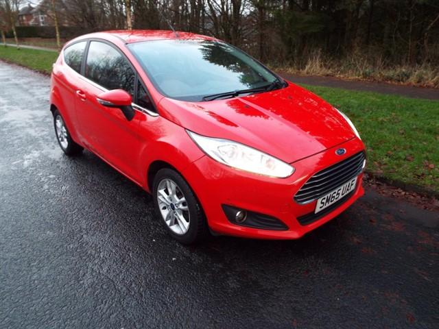 used Ford Fiesta ZETEC in lancashire