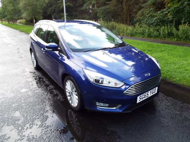used Ford Focus TITANIUM X TDCI in lancashire