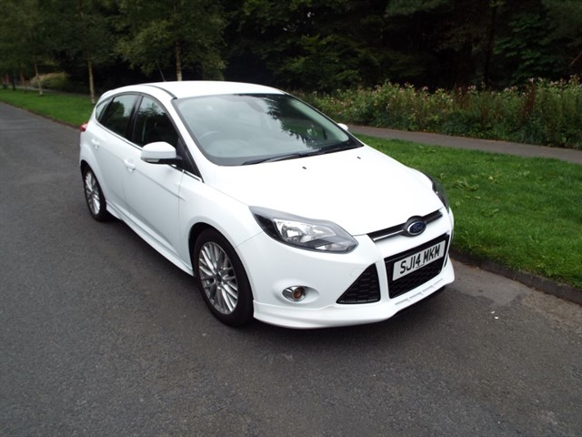 used Ford Focus ZETEC S in lancashire
