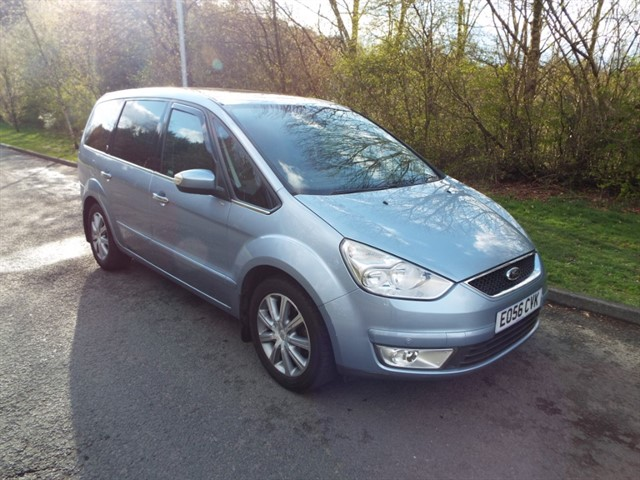 used Ford Galaxy GHIA TDCI in lancashire