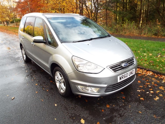 used Ford Galaxy ZETEC TDCI in lancashire