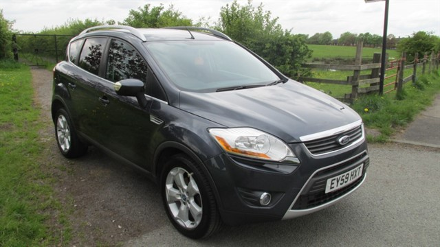 used Ford Kuga ZETEC TDCI in lancashire