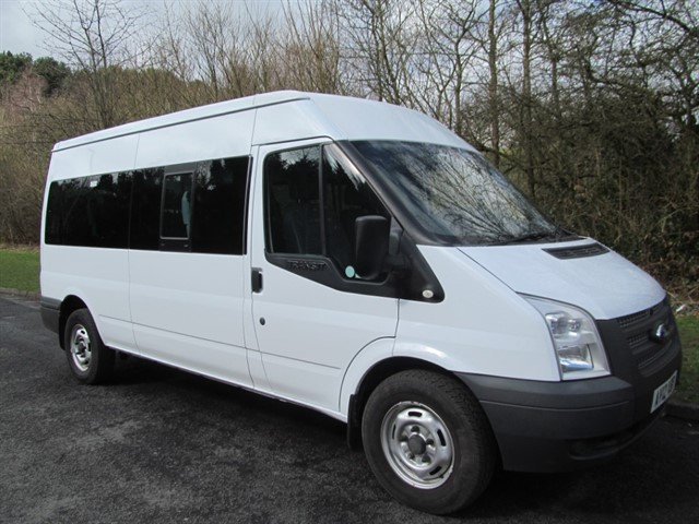 used Ford Transit 350 BUS 14 STR in lancashire