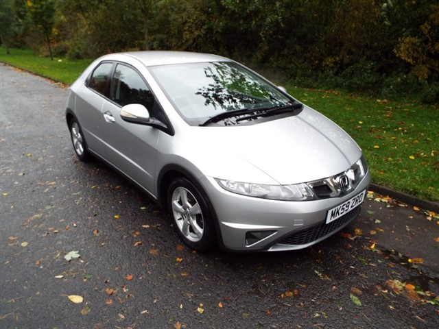 used Honda Civic I-VTEC SE in lancashire
