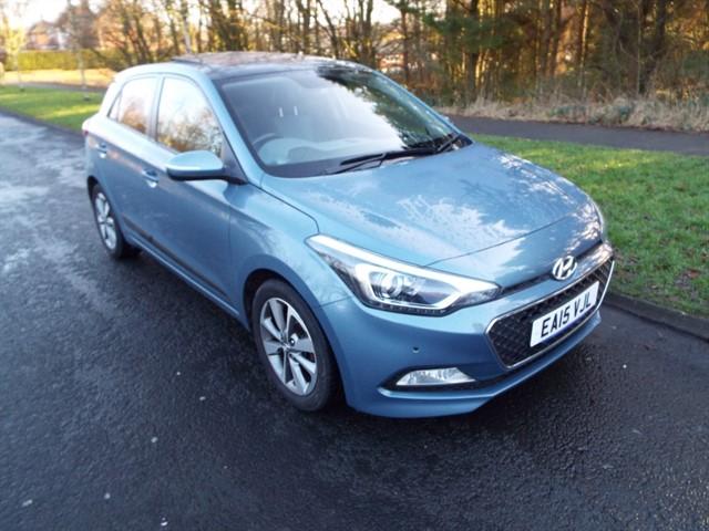 used Hyundai i20 CRDI PREMIUM SE in lancashire