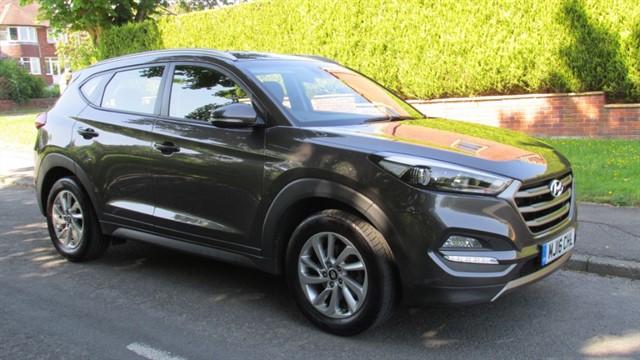 used Hyundai Tucson CRDI SE NAV in lancashire
