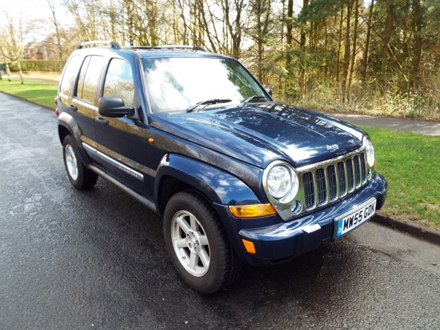 used Jeep Cherokee CRD LIMITED in lancashire