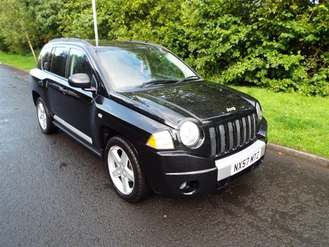 used Jeep Compass LIMITED CRD in lancashire