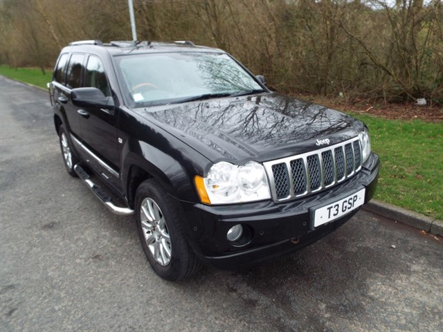 used Jeep Grand Cherokee V8 CRD OVERLAND in lancashire