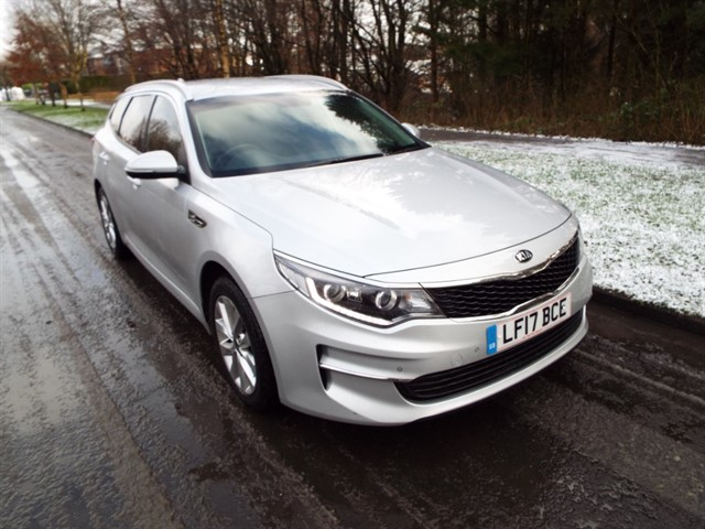 used Kia Optima CRDI 2 ISG in lancashire