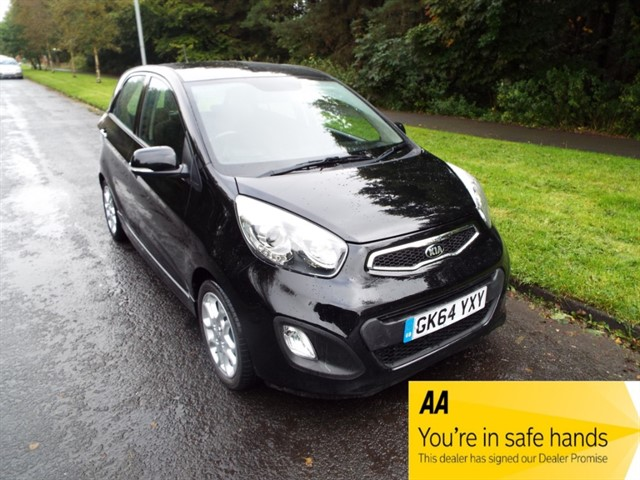 used Kia Picanto 3 in lancashire