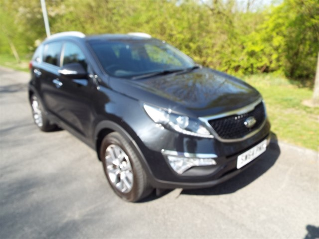 used Kia Sportage BLACK EDITION ISG in lancashire