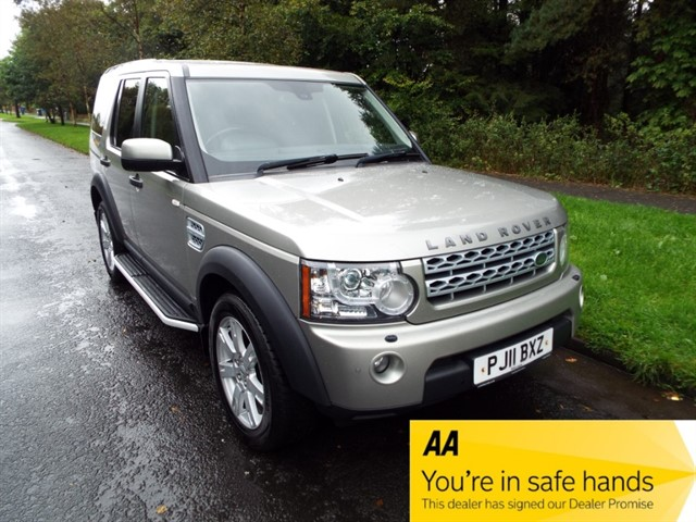 used Land Rover Discovery XS SDV6 COMMERCIAL in lancashire