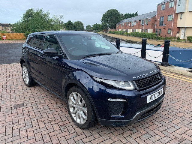 used Land Rover Range Rover Evoque TD4 HSE DYNAMIC in lancashire
